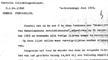 Reports of Central Intelligence communications, 1919-1940