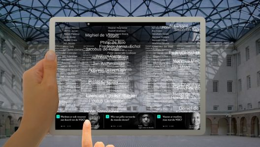 Experience the scope of Dutch East India Company data sets in augmented reality